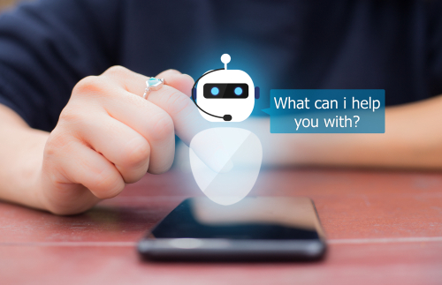chatbot assistant in mobile