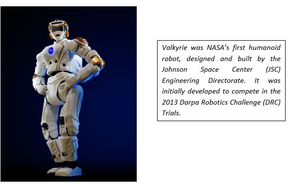 Valkyrie First Humanoid by Nasa