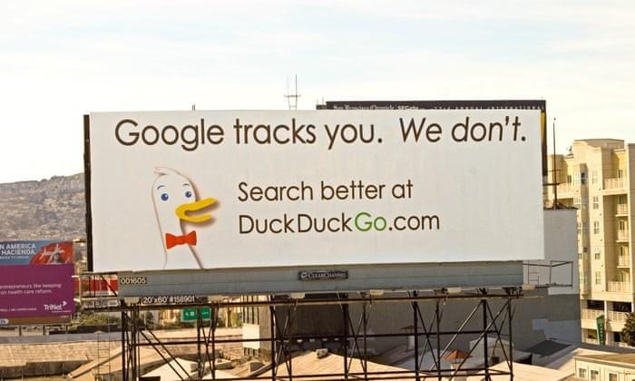 PR stunt pulled by DuckDuckGo