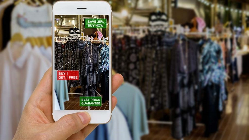 AR powered stores