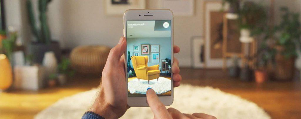 enhanced customer experience with AR