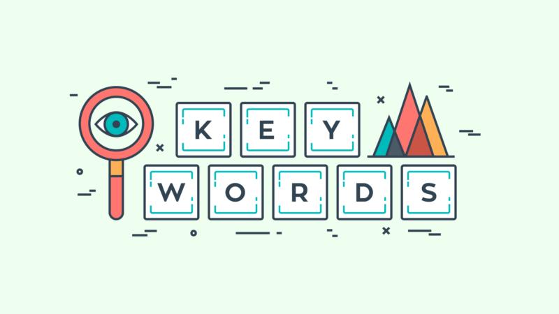 focus on right keywords