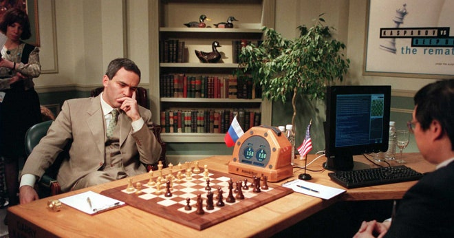 1997 IBM's Deep Blue Defeats Garry Kasparov