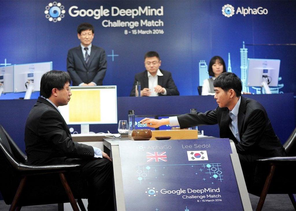 AlphaGo Defeats Human Go Champion 2016