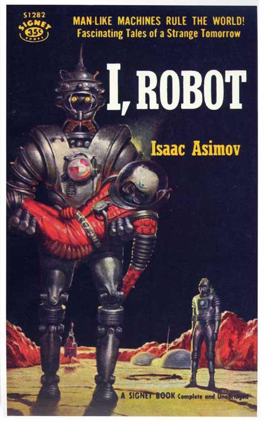Book Robot Isaac Asimov