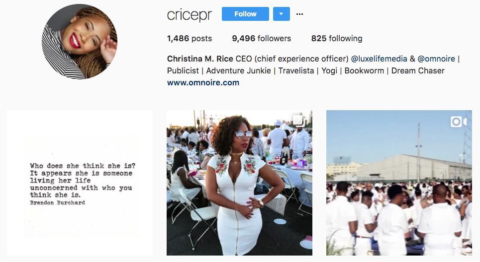 Micro influencer Cricepr
