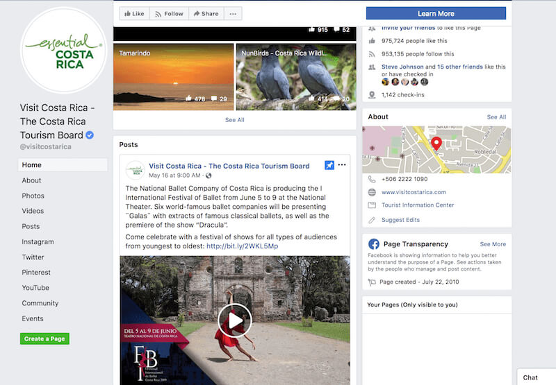 Launch business pages on Facebook