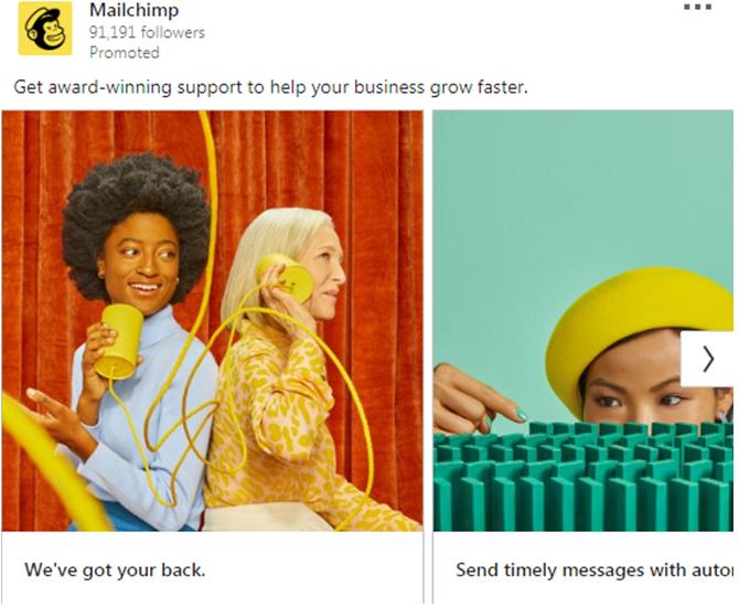 Mailchimp Ad 1