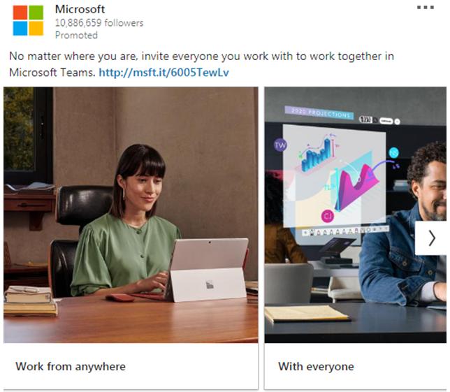Microsoft Ad work anywhere