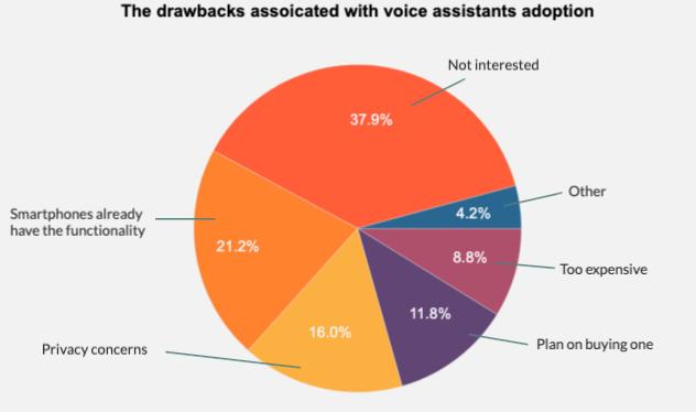 drawbacks voice assistant adoption