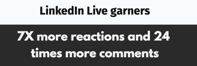Linkedin Live Garners
