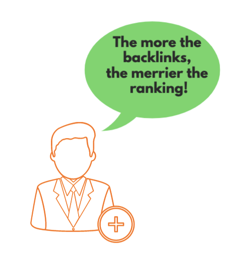 backlink helps in ranking