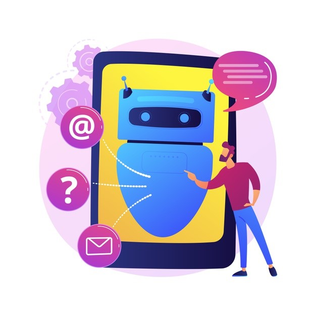 concept chatbot with machine learnging