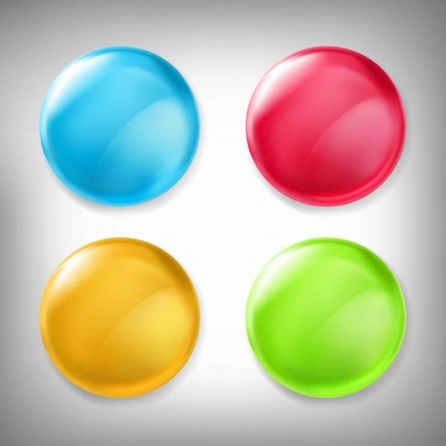 3d elements sphere shapes