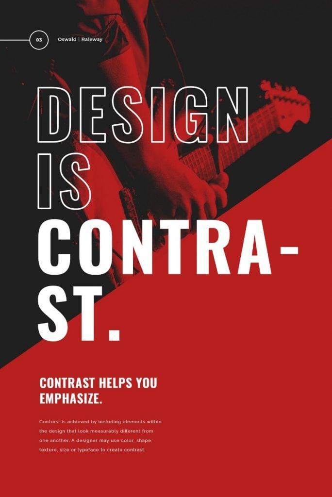 bold typography image 1