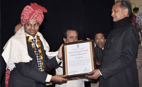 Rajasthan State Award for Export Excellence to Cyfuture