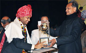 Cyfuture- Rajasthan State Award for Export Excellence