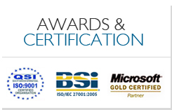 Awards & Certification