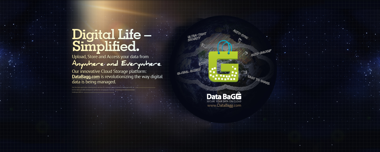 Online Cloud Storage Solution - Databagg