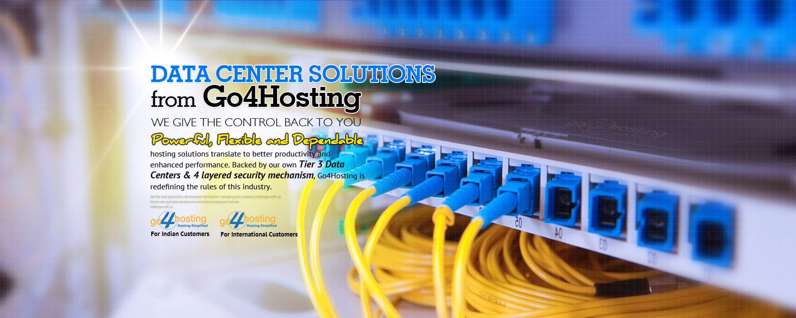 Data Center In India - Go4hosting
