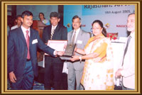Award for Excellence in IT and ITES to Cyfuture